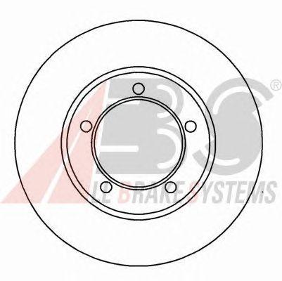 Тормозной диск A.B.S. 15843
