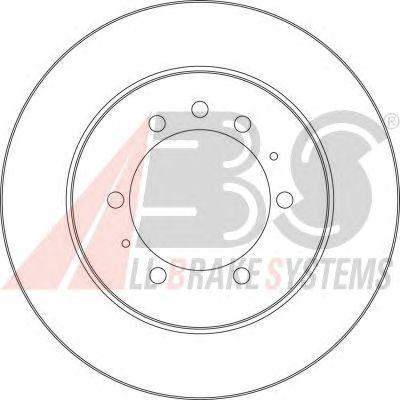 Тормозной диск A.B.S. 16022