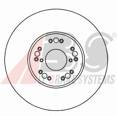 Тормозной диск A.B.S. 16493
