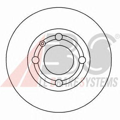 Тормозной диск A.B.S. 16542