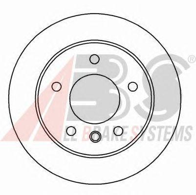 Тормозной диск A.B.S. 17061