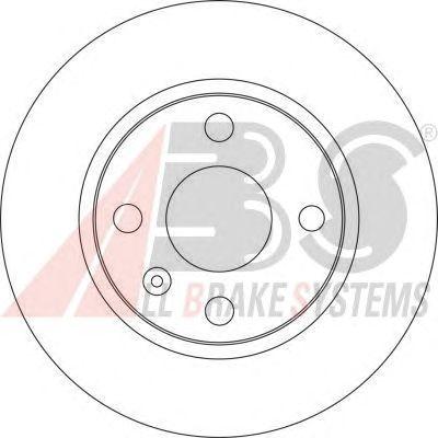 Тормозной диск A.B.S. 17149