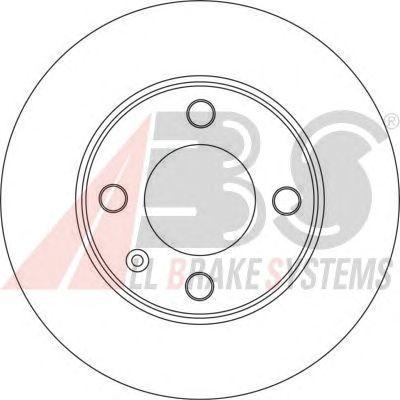 Тормозной диск A.B.S. 17192