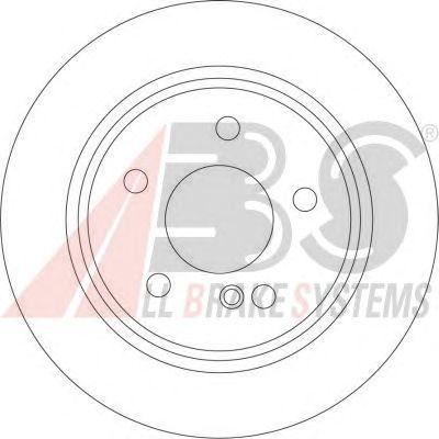Тормозной диск A.B.S. 17399