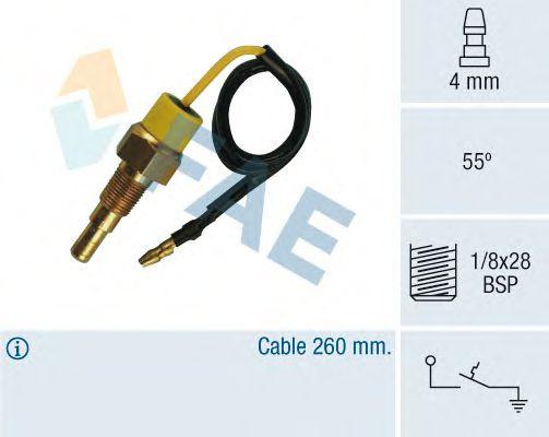 Датчик температуры охлаждающей жидкости FAE 35790