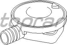 Клапан вентиляции картера TOPRAN 501 896