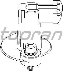 Бегунок распределителя зажигани TOPRAN 202 018