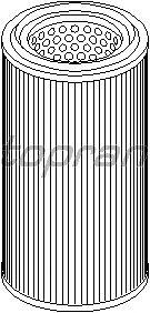 Воздушный фильтр TOPRAN 720 971