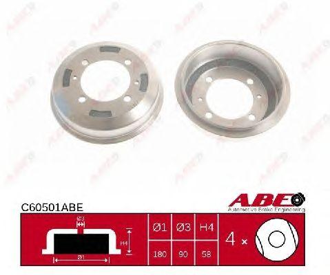 Тормозной барабан ABE C60501ABE
