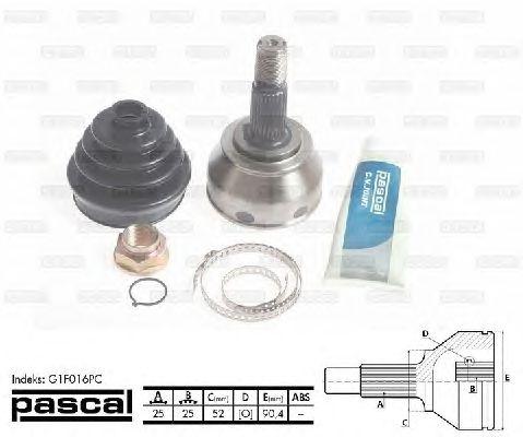 Комплект ШРУСов PASCAL G1F016PC