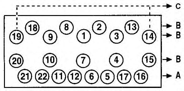 Прокладка головки блока цилиндров (ГБЦ) AJUSA 10129700