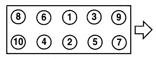 Прокладка головки блока цилиндров (ГБЦ) AJUSA 10096700