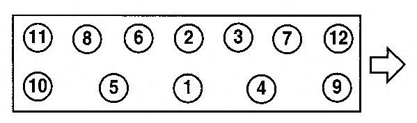Прокладка головки блока цилиндров (ГБЦ) AJUSA 10014900