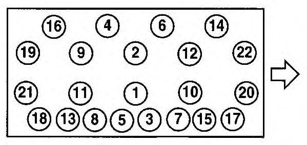 Прокладка головки блока цилиндров (ГБЦ) AJUSA 10120900
