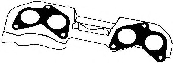 Прокладка выпускного коллектора AJUSA 13095700
