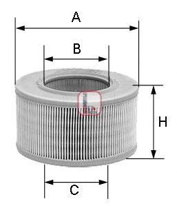 Воздушный фильтр SOFIMA S 6102 A