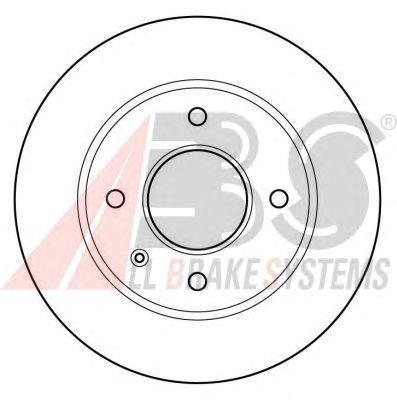 Тормозной диск A.B.S. 15728