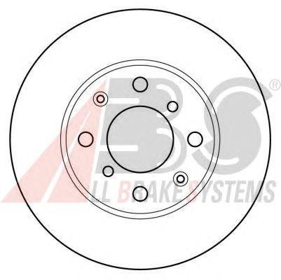 Тормозной диск A.B.S. 16039