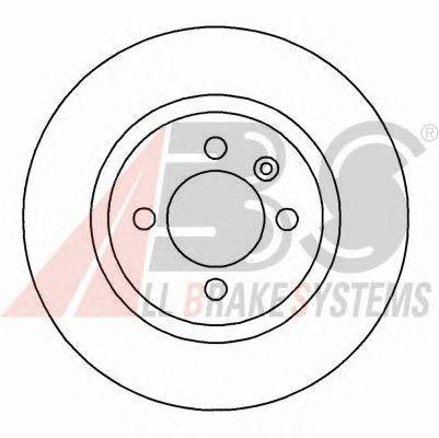Тормозной диск A.B.S. 16069