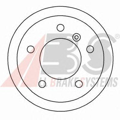 Тормозной диск A.B.S. 16452