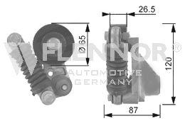 Натяжитель поликлинового ремня FLENNOR FA22926
