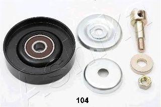 Направляющий / паразитный ролик  поликлинового ремня ASHIKA 129-01-104