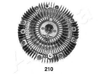 Вязкостная муфта вентилятора охлаждения ASHIKA 36-02-210
