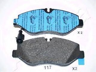 Тормозные колодки ASHIKA 50-01-117