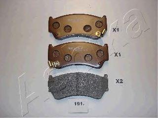 Тормозные колодки ASHIKA 50-01-191