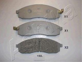 Тормозные колодки ASHIKA 50-01-192