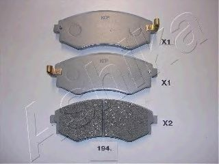Тормозные колодки ASHIKA 50-01-194