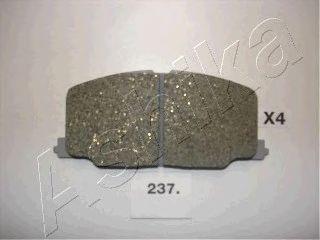 Тормозные колодки ASHIKA 50-02-237