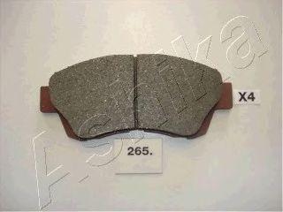 Тормозные колодки ASHIKA 50-02-265
