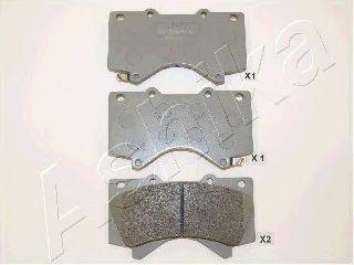 Тормозные колодки ASHIKA 50-02-272