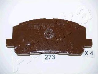 Тормозные колодки ASHIKA 50-02-273