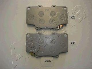 Тормозные колодки ASHIKA 50-02-292