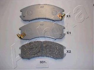Тормозные колодки ASHIKA 50-03-331