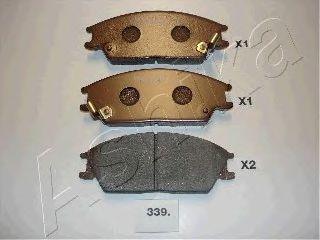 Тормозные колодки ASHIKA 50-03-339