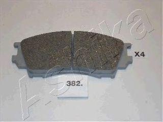 Тормозные колодки ASHIKA 50-03-382