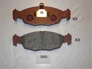 Тормозные колодки ASHIKA 50-03-390