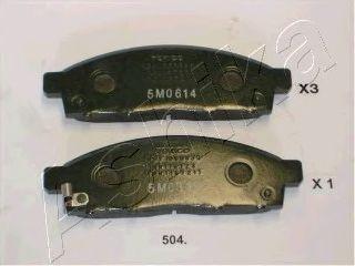 Тормозные колодки ASHIKA 50-05-504