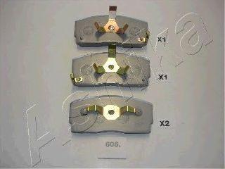 Тормозные колодки ASHIKA 50-06-606