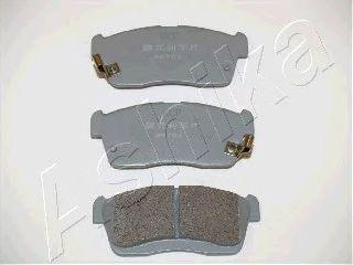 Тормозные колодки ASHIKA 50-06-612