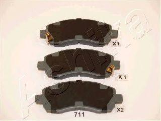 Тормозные колодки ASHIKA 50-07-711