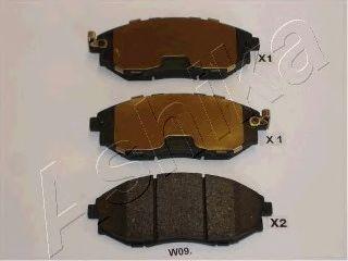 Тормозные колодки ASHIKA 50-0W-W09