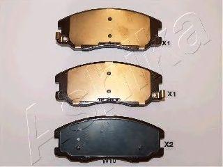 Тормозные колодки ASHIKA 50-0W-W10