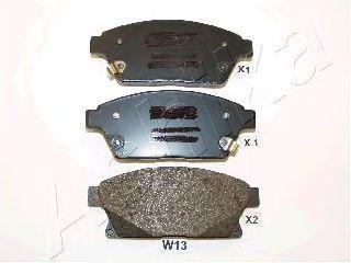 Тормозные колодки ASHIKA 50-0W-W13