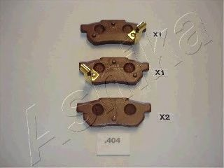Тормозные колодки ASHIKA 51-04-404