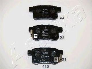 Тормозные колодки ASHIKA 51-04-410