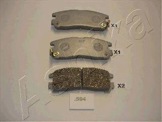 Тормозные колодки ASHIKA 51-05-594